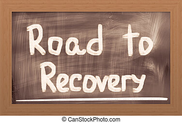 Road To Recovery Concept