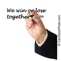We win or lose together
