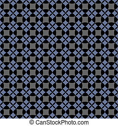 Dark seamless geometric pattern