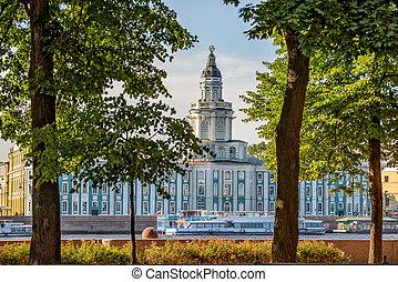 Kunstkamera in St. Petersburg - Kunstkamera museum in St....