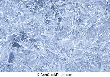 Ice Surface Backgrounds 6 - A series of photos. Ice Surface.