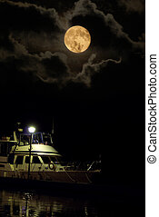 Supermoon - This amazing and rare supermoon was photographed...