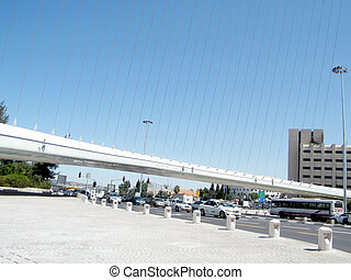 Jerusalem part of chords bridge 2010 - The part of new...