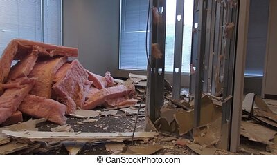 Building Remodeling - office space redesign - construction A...