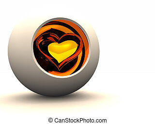 Protect the Heart - An abstract with the heart surrounded by...