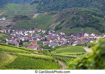 View of a beautiful German village - View of a beautiful...