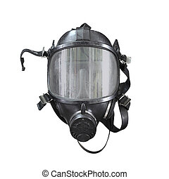 Oxygen mask , Gas mask , Firefighters mask of Firefighters...