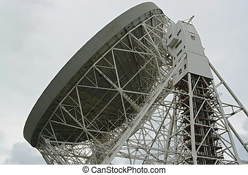 Radio telescope - The Lovell radio telescope, Jodrell back,...