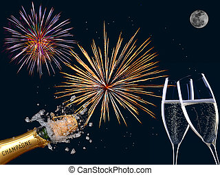 Champaign fireworks composition - fireworks composition for...
