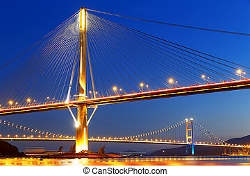 hong kong highway bridge