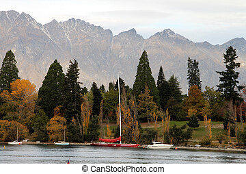 spectacular lake view - Spectacular view of Queenstown lake...