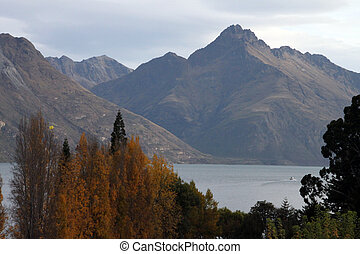 Scenic beauty - Scenic town of New zealand having beautiful...
