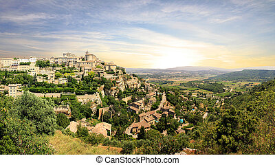 France - Gordes - In the South of France (Provence)