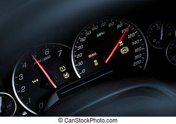 Super Car Tachometer Dash - Super Car Tachometer. Car...