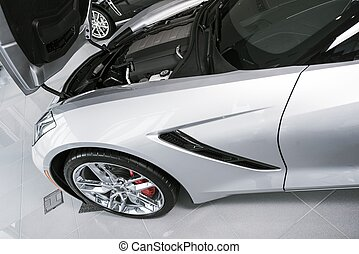 Super Car For Sale - Brand New Silver Super Car For Sale...