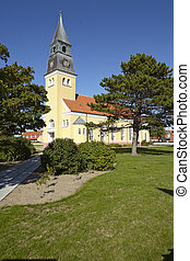 Skagen Denmark - Church - The church at Skagen Denmark,...