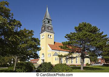 Skagen (Denmark) - Church - The church at Skagen (Denmark,...