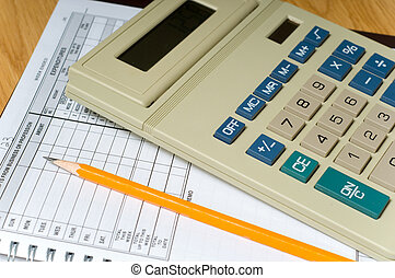 Accounting Items - Items used in small business accounting...