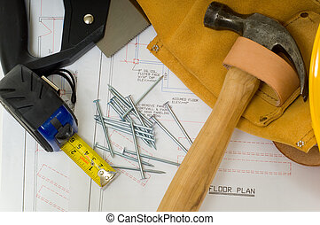 Construction Industry - Items used by a construction worker...