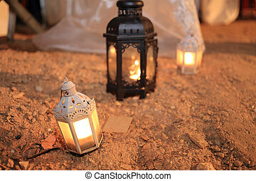 candle lamp decoration festival of light, lighting decorate...