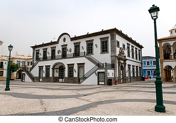 European antique house - An european antique house in Macau...