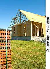 Construction Industry - Image of Residential construction...