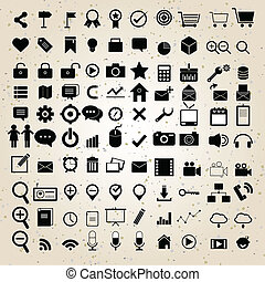 web design icons set vector eps 10 for business, finance and...