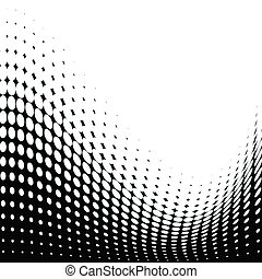 Abstract dots background - Halftone dots texture for...
