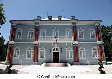 The residence of the President of the Republic of...