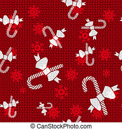 Vector Christmas Candy Canes