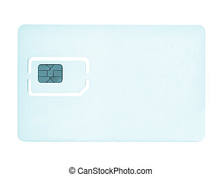 Sim card for mobile phone or smartphone or tablet computer -...