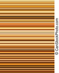 Golden color stripes abstract background.