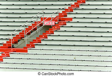Stadium Seating - Sports Stadium bleacher seating - great...