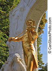Inspirational sculptural portrait of Johann Strauss -...