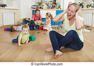 parenting and family difficulties - stressed or frustrated...