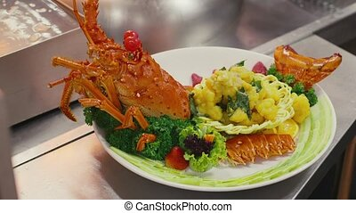 Food, seafood, lobster, kitchen - Lobster, seafood, gourmet...