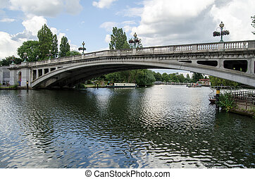 Reading Bridge - View of Reading bridge spanning the River...