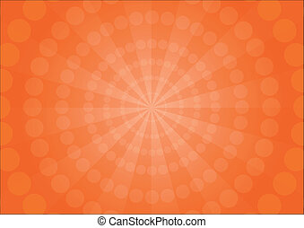 Sunray abstract background, VECTOR, EPS10