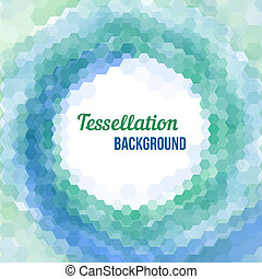 Abstract tessellation background - Abstract background -...