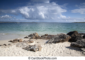 Roundstone Beach, Connemara, County Galway, Ireland