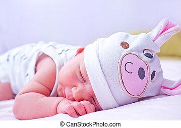 bebê, dormir