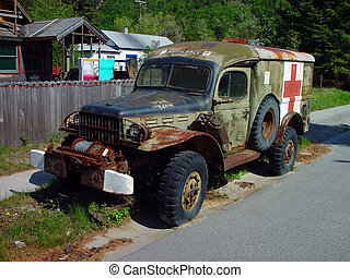 Ambulance - World war 2 Military Ambulance