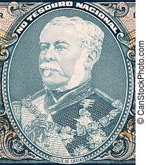 Duque de Caxias on 2 Cruzerios 1956 Banknote from Brazil....
