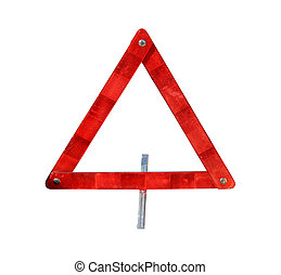 Emergency trafic triangle - Safety reflective triangle for...