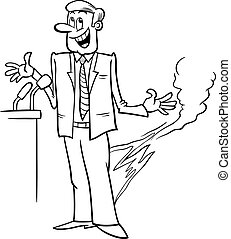 pants on fire saying coloring page - Black and White Cartoon...