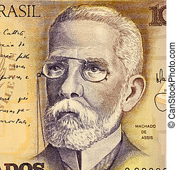 Joaquim Machado on 1000 Cruzados 1988 Banknote from Brazil....