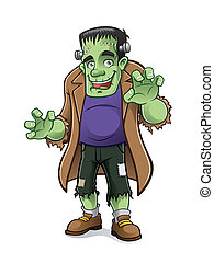 Frankenstein - frankenstein monster is preparing to scare...