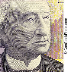 John A Macdonald - John Macdonald on 10 Dollars 2005...