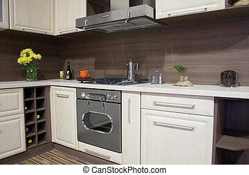Modern kitchen - Detai of an modern kitchen