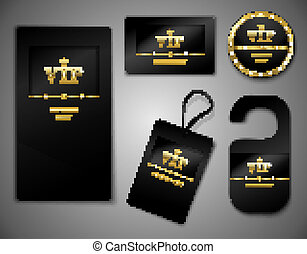 Vip cards design template - Vip members only premium...